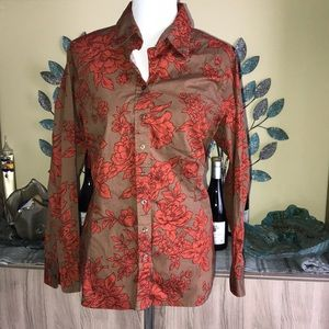 Coldwater Creek Button Down 1567